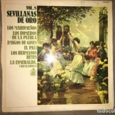 Discos de vinilo: SEVILLANAS DE ORO: VOL 8. Lote 194227317