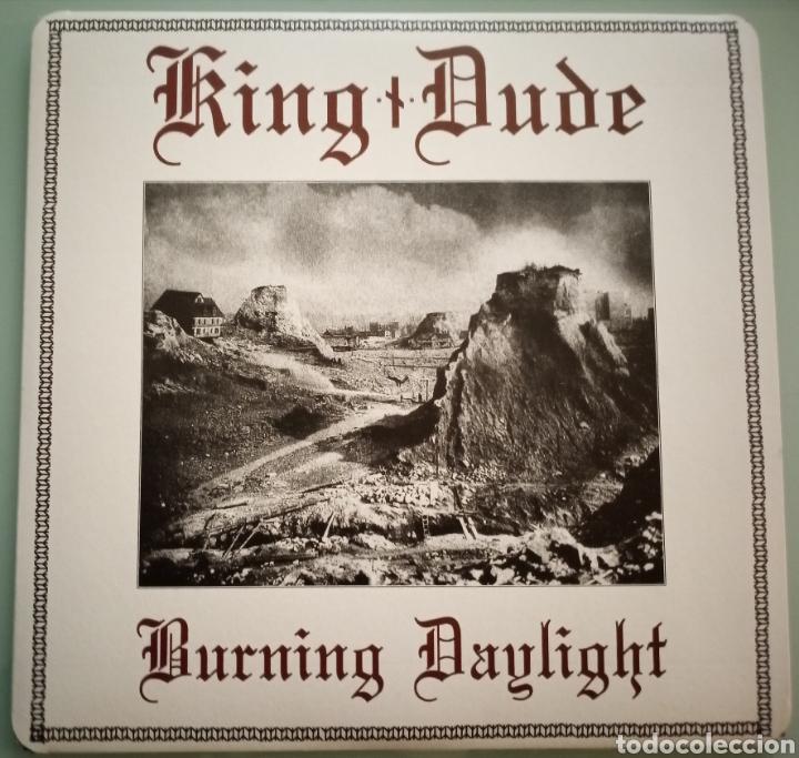 KING DUDE - BURNING DAYLIGHT - VINILO (Música - Discos - LP Vinilo - Pop - Rock Extranjero de los 90 a la actualidad)