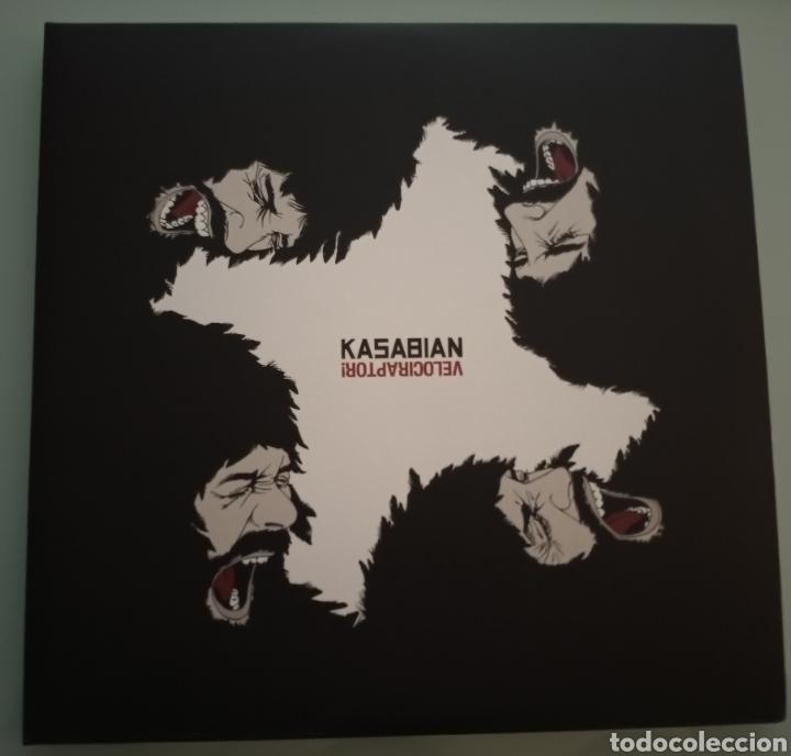 KASABIAN - VELOCIRAPTOR - VINILO 10 PULGADAS (Música - Discos - LP Vinilo - Pop - Rock Extranjero de los 90 a la actualidad)