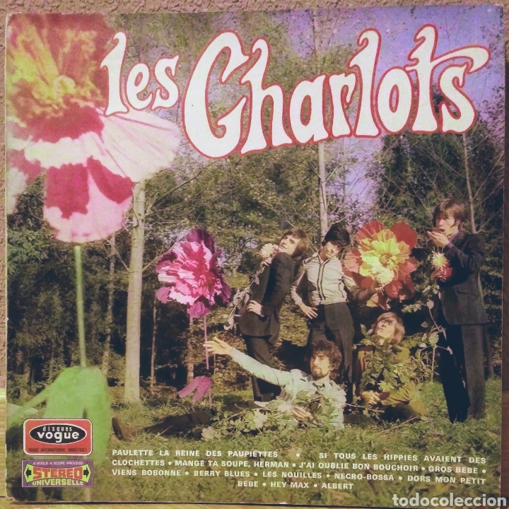LES CHARLOTS - CHARLOW-UP LP VOGUE 1967 (Música - Discos - LP Vinilo - Pop - Rock Extranjero de los 50 y 60)