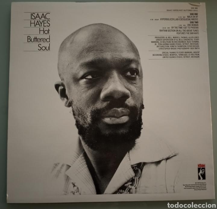 Discos de vinilo: Isaac Hayes - Hot Buttered Soul - vinilo - Foto 2 - 194228206