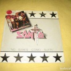 Discos de vinilo: SANTA - VINILO MUY NUEVO. Lote 194228808