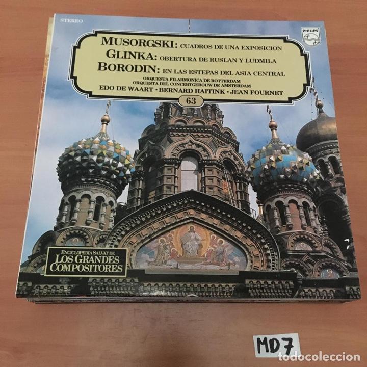 MUSORGSKI GLINKA BORODIN (Música - Discos - LP Vinilo - Otros estilos)