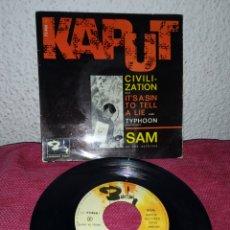 Discos de vinilo: RARO DISCO VINILO EP 7 SAM & SAXTONES KAPUT.. Lote 194228977