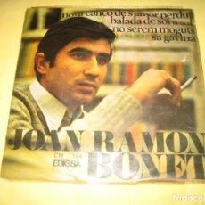 Discos de vinilo: JOAN RAMON BONET . Lote 194229308