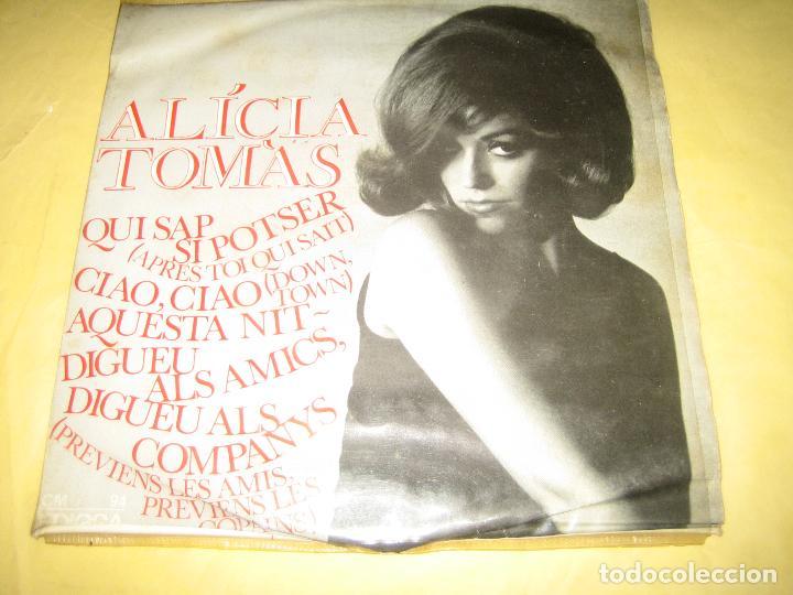 ALICIA TOMAS - (Música - Discos - Singles Vinilo - Grupos Españoles 50 y 60)