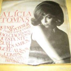 Discos de vinilo: ALICIA TOMAS - . Lote 194229486
