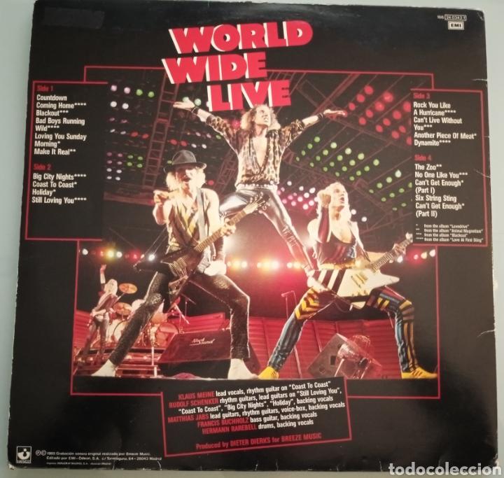 Discos de vinilo: SCORPIONS - World Wild Life - 2 LPs vinilo - Foto 3 - 194229868