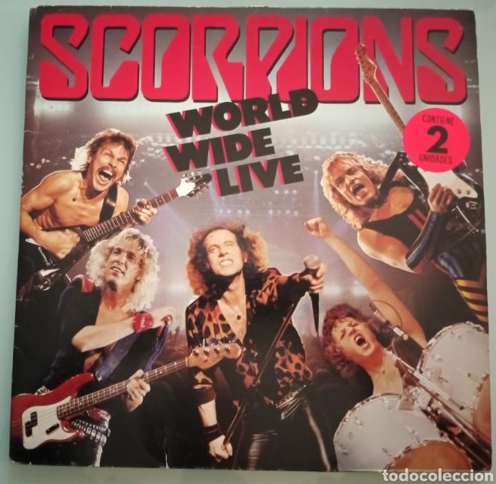 SCORPIONS - WORLD WILD LIFE - 2 LPS VINILO (Música - Discos - LP Vinilo - Heavy - Metal)