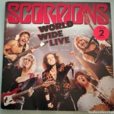 Discos de vinilo: SCORPIONS - WORLD WILD LIFE - 2 LPS VINILO. Lote 194229868