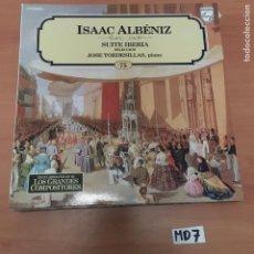 Discos de vinilo: ISAAC ALBENIZ. Lote 194230933