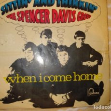 Discos de vinilo: THE SPENCER DAVIS GROUP, WHEN I COME HOME + 3 . Lote 194230986