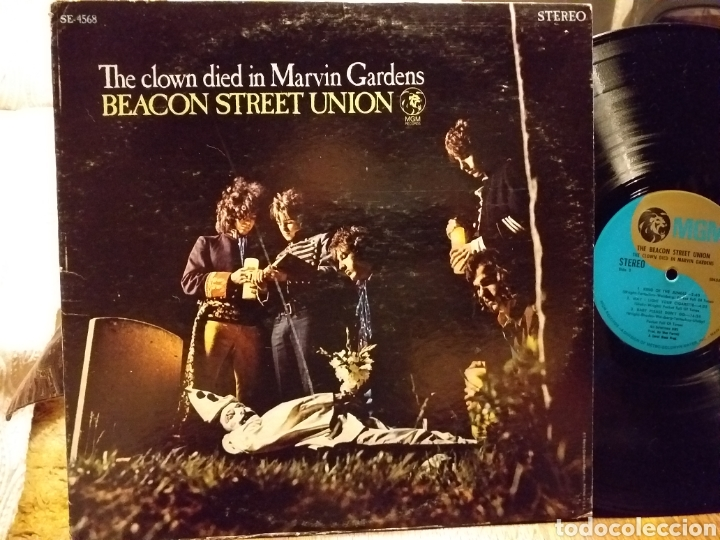 Discos de vinilo: BEACON STREET UNION THE CLOWN DIED IN MARVIN GARDENS USA 1968 psych prog - Foto 1 - 194232232