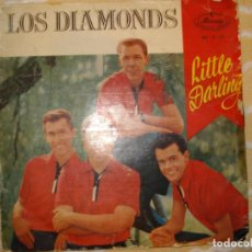 Discos de vinilo: LOS DIAMONDS , LITTLE DARLING +3. Lote 194233615