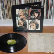 Discos de vinilo: THE BEATLES LET IT BE 1970 LP ORIGINAL JAPAN APPLE AP-80189 GATEFOLD COVER VINYL JAPON. Lote 194234411