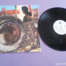 Discos de vinilo: JOYA/DIFICIL ORIGINAL .PRIMER Y UNICO LP DE ,DESAPARECIDO CANTANTE ROCK DE HUELVA MACACO, POR FIN.. Lote 194234510