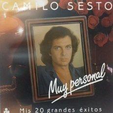 Discos de vinilo: VINILO CAMILO SESTO MUY PERSONAL. Lote 194234790