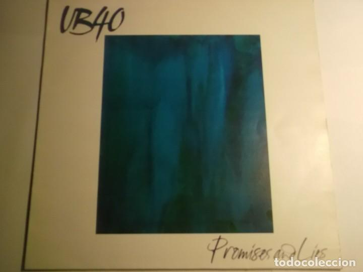 UB40-PROMISES AND LIES-ORIGINAL ESPAÑOL-ESTADO EXCELENTE (Música - Discos - LP Vinilo - Pop - Rock - New Wave Extranjero de los 80)