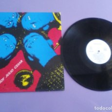 Discos de vinilo: JOYA MUY DIFICIL LP PUNK.YO SOY JULIO CESAR(LA POLLA RECORDS,HERTZAINAK,DELIRIUMS TREMENS,ESKORBUTO,. Lote 194235571