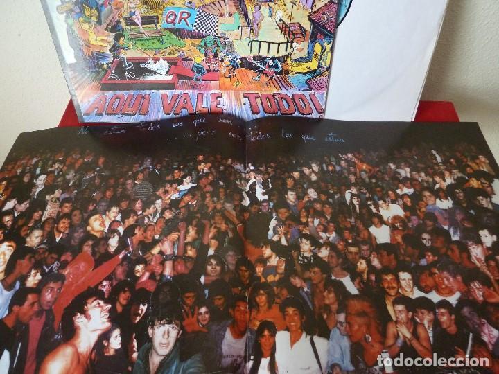 Discos de vinilo: QUEMANDO RUEDAS-LP/DISCO VINILO-QUEMANDO RUEDAS·AQUI VALE TODO!-1990·BASATI DISKAK - Foto 9 - 194235807