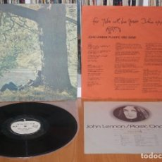 Discos de vinilo: JOHN LENNON PLASTIC ONO BAND 1970 LP JAPAN 1977 REISSUE EAS-80704 BEATLES YOKO ONO JAPON. Lote 194236156