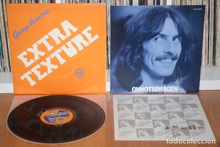 GEORGE HARRISON EXTRA TEXTURE LP 1ST PRESS ORIGINAL JAPAN EAS-80355 NM BEATLES JAPON (Música - Discos - LP Vinilo - Pop - Rock Extranjero de los 50 y 60)