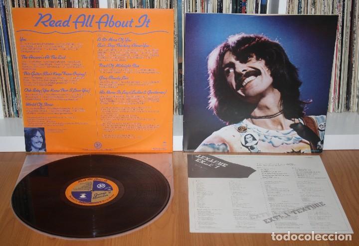 Discos de vinilo: GEORGE HARRISON Extra Texture LP 1st press Original Japan EAS-80355 NM Beatles JAPON - Foto 2 - 194236965