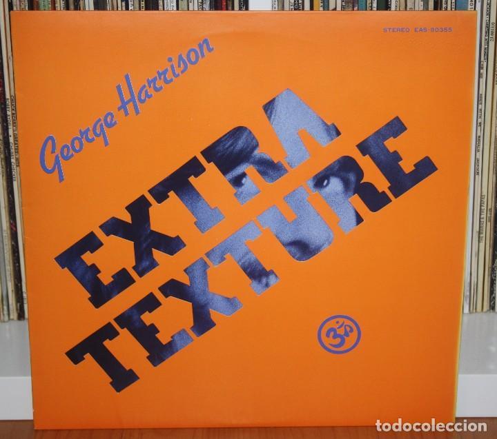 Discos de vinilo: GEORGE HARRISON Extra Texture LP 1st press Original Japan EAS-80355 NM Beatles JAPON - Foto 3 - 194236965