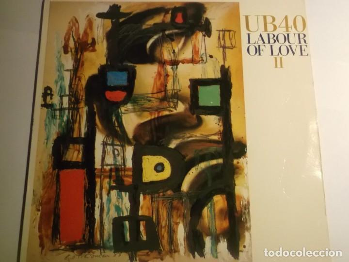 UB40-LOBOUR OF LOVE II-ORIGINAL ESPAÑOL-CONTIENE ENCARTE (Música - Discos de Vinilo - EPs - Pop - Rock - New Wave Extranjero de los 80)