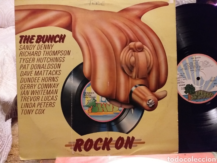 THE BUNCH ROCK ON ESPAÑA 1972 (Música - Discos - LP Vinilo - Pop - Rock - Extranjero de los 70)