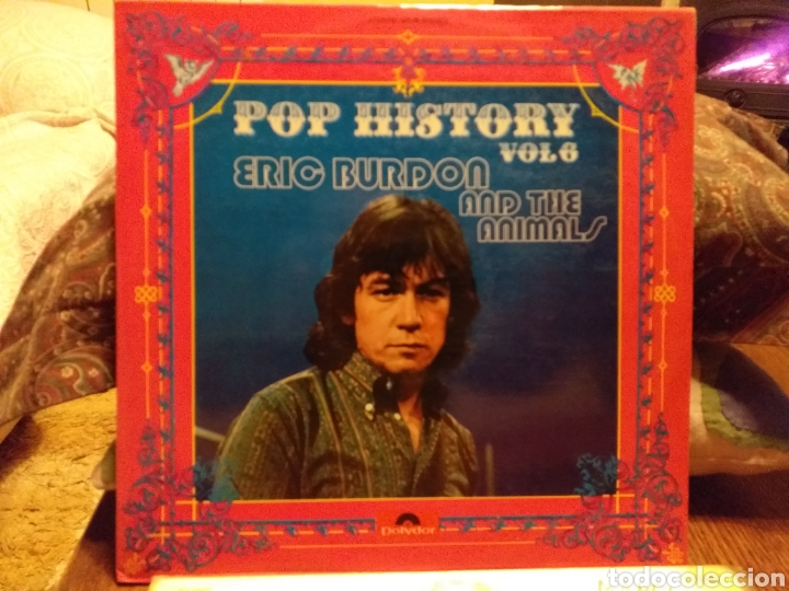 ERIC BURDON AND THE ANIMALS POP HISTORY VOL6 ESPAÑA 1971 (Música - Discos - LP Vinilo - Pop - Rock - Extranjero de los 70)