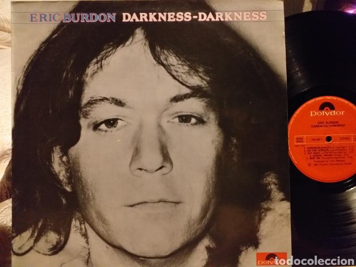 ERIC BURDON DARKNESS-DARKNESS ESPAÑA 1980 (Música - Discos - LP Vinilo - Pop - Rock - Extranjero de los 70)