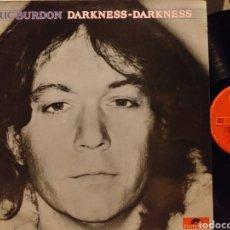 Discos de vinilo: ERIC BURDON DARKNESS-DARKNESS ESPAÑA 1980. Lote 194241376