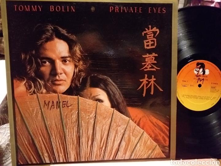 TOMMY BOLIN PRIVATE EYES ESPAÑA 1977 (Música - Discos - LP Vinilo - Pop - Rock - Extranjero de los 70)
