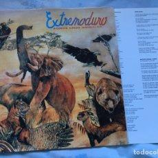 Discos de vinilo: EXTREMODURO SOMOS UNOS ANIMALES INCLUYE ENCARTE VER FOTOS MAREA BARRICADA ROSENDO. Lote 194242632