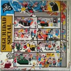 Discos de vinilo: SEGURIDAD SOCIAL. LA EXPLOSIÓN DE LOS PASTELITOS DE MERENGUE. XIU-XIU, SPAIN 1987 LP + ENCARTE. Lote 194243237