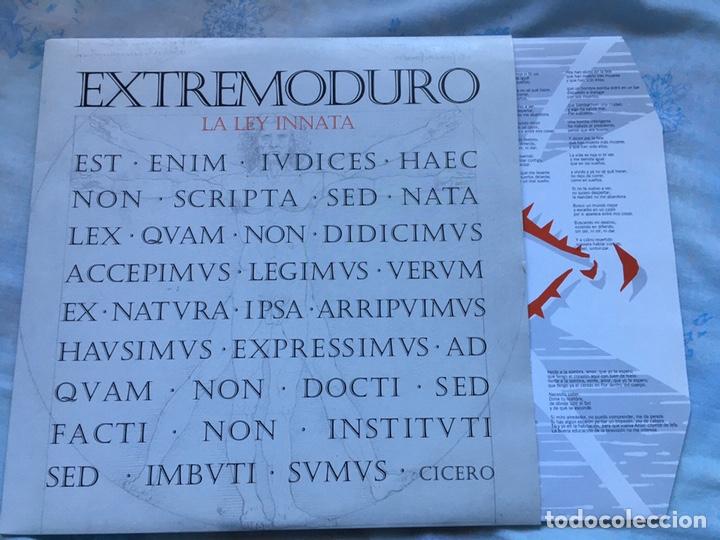 EXTREMODURO LA LEY INNATA EDICION 2011 VINILO REINCIDENTES PLATERO MAREA ROSENDO BARRICADA (Música - Discos - LP Vinilo - Rock & Roll)