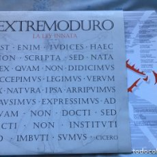 Discos de vinilo: EXTREMODURO LA LEY INNATA EDICION 2011 VINILO REINCIDENTES PLATERO MAREA ROSENDO BARRICADA. Lote 194243498