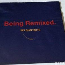 Discos de vinilo: PET SHOP BOYS - BEING REMIXED - 1990. Lote 194243600