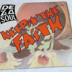Discos de vinilo: DE LA SOUL - KEEPIN' THE FAITH - 1991. Lote 194244006