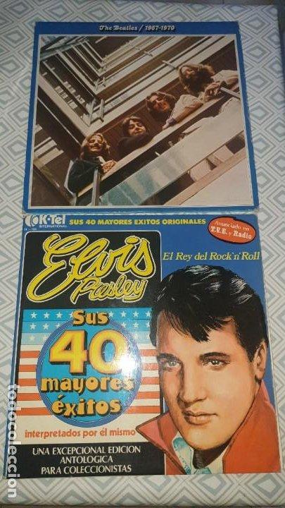 THE BEATLES 1967/1970 Y ELVIS PRESLEY (Música - Discos - LP Vinilo - Pop - Rock Extranjero de los 50 y 60)