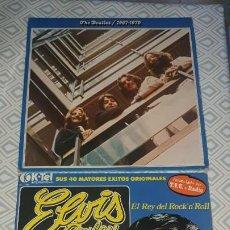 Discos de vinilo: THE BEATLES 1967/1970 Y ELVIS PRESLEY. Lote 194244361