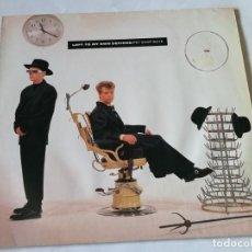 Discos de vinilo: PET SHOP BOYS - LEFT TO MY OWN DEVICES - 1988. Lote 194244395