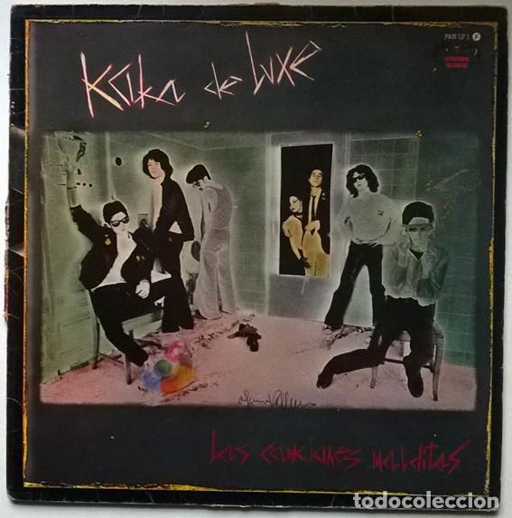 KAKA DE LUXE. LAS CANCIONES MALDITAS. EL FANTASMA DEL PARAÍSO, SPAIN 1983 LP ORIGINAL (Música - Discos - LP Vinilo - Grupos Españoles de los 70 y 80)