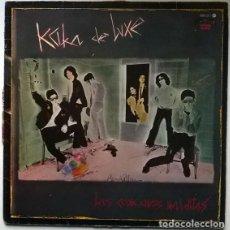 Discos de vinilo: KAKA DE LUXE. LAS CANCIONES MALDITAS. EL FANTASMA DEL PARAÍSO, SPAIN 1983 LP ORIGINAL. Lote 194244922
