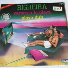 Discos de vinilo: RIGHEIRA - VAMOS A LA PLAYA - 1983. Lote 194244988