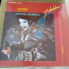 Discos de vinil: MICHAEL SEMBELLO - MANIAC. Lote 194246218