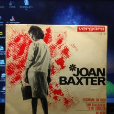 Discos de vinilo: EP JOAN BAXTER : DESCANSAR UN RATO + 3 . Lote 194246993