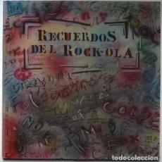 Discos de vinilo: VVAA. RECUERDOS DEL ROCK-OLA. TWINS, SPAIN 1987 (2 LP). Lote 194247001