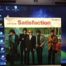 Discos de vinilo: SG THE ROLLING STONES : SATISFACTION ( EDICION FRANCIA ). Lote 194247403